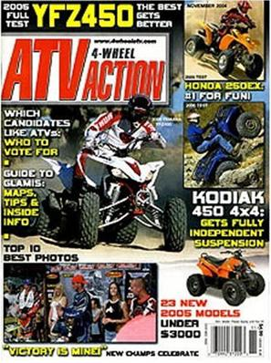 4-Wheel Atv Action